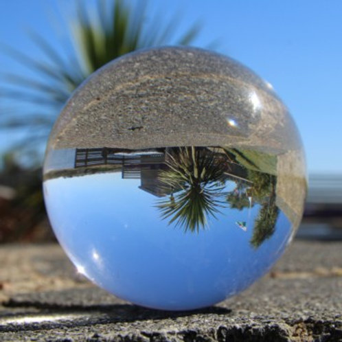 Juggle Dream Crystal Clear Acrylic Ball - 90mm