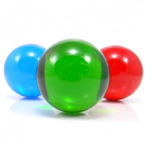 Translucent Colored Contact Juggling Balls - 75mm