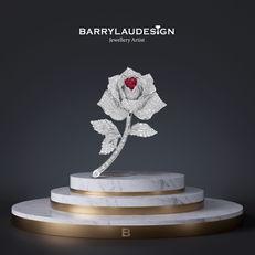 Barry Lau Jewellery Designer (rose)
