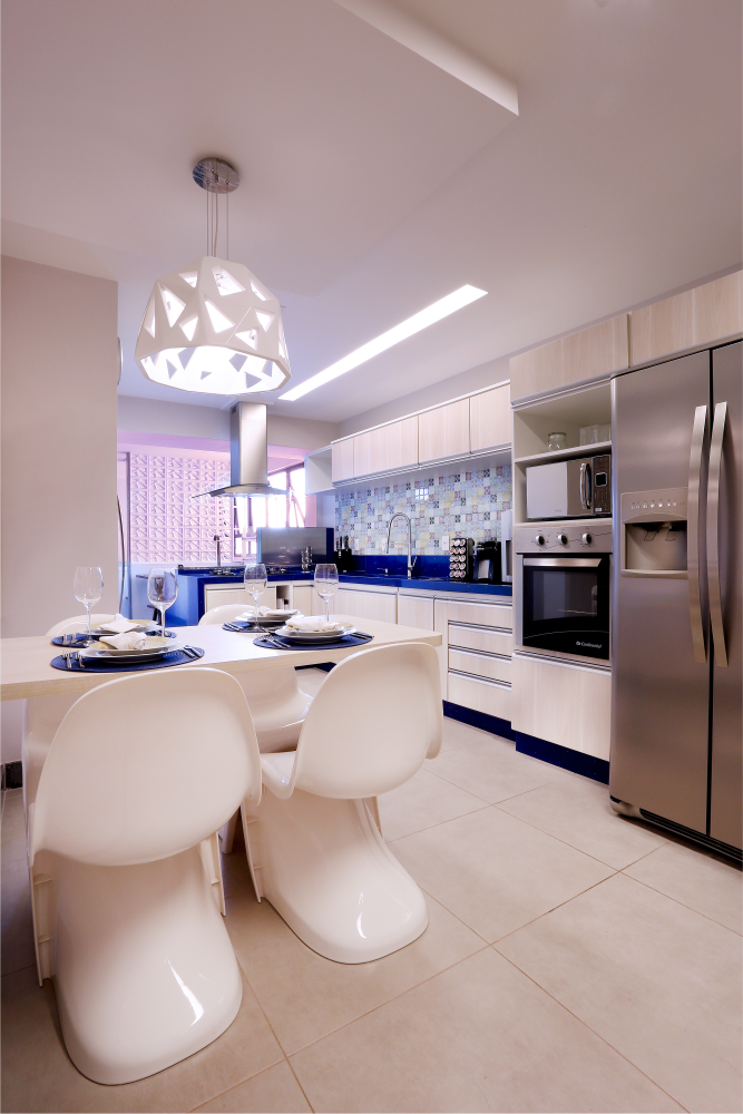 Kitchen in Blue - 08