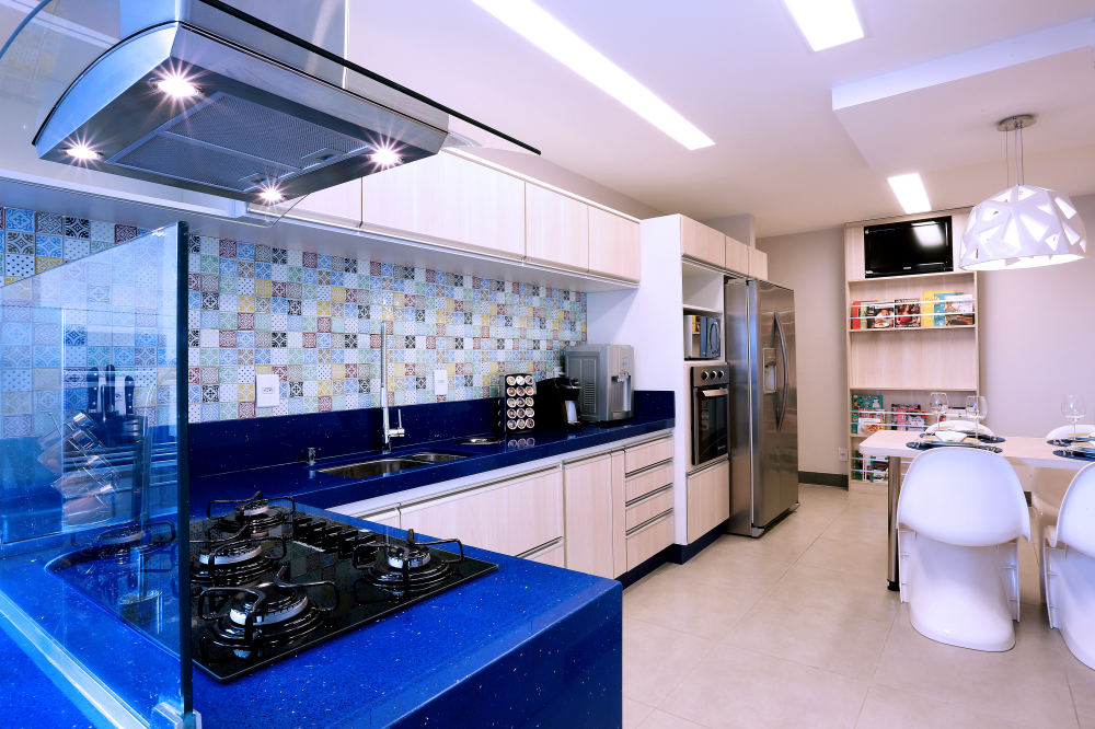 Kitchen in Blue - 04