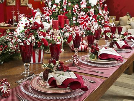 Tendências para decorar a mesa de natal e fugir do óbvio