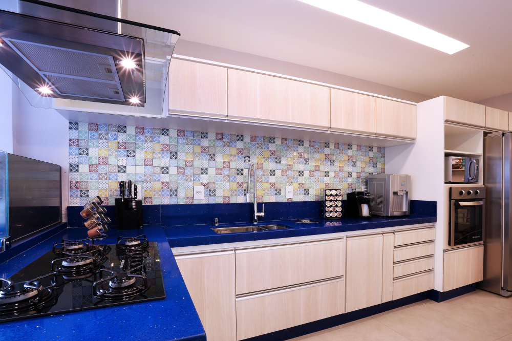 Kitchen in Blue - 03