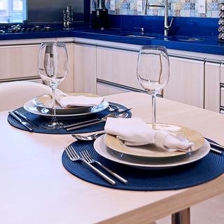 Kitchen in Blue