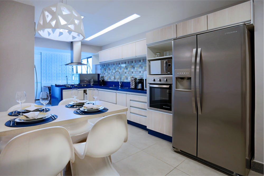Kitchen in Blue - 02