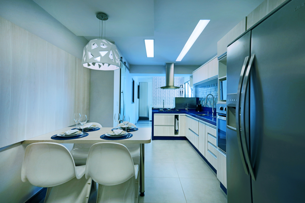 Kitchen in Blue - 01