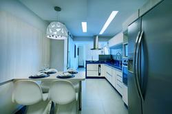 Kitchen in Blue - 01