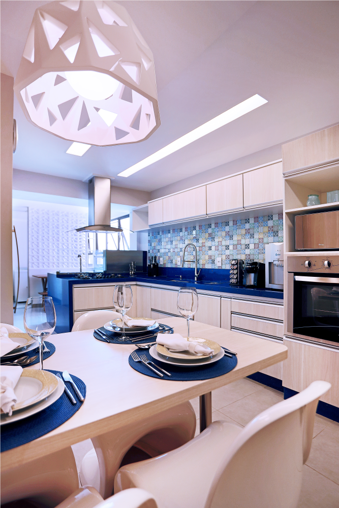 Kitchen in Blue - 06