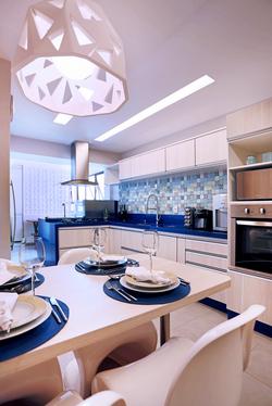 Kitchen in Blue - 06