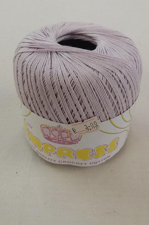 lilac crochet cotton