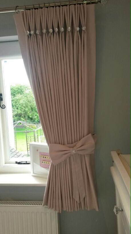 hand headed curtains