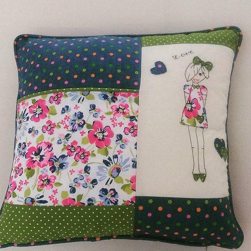 Denim style book cushion (LLCDP)