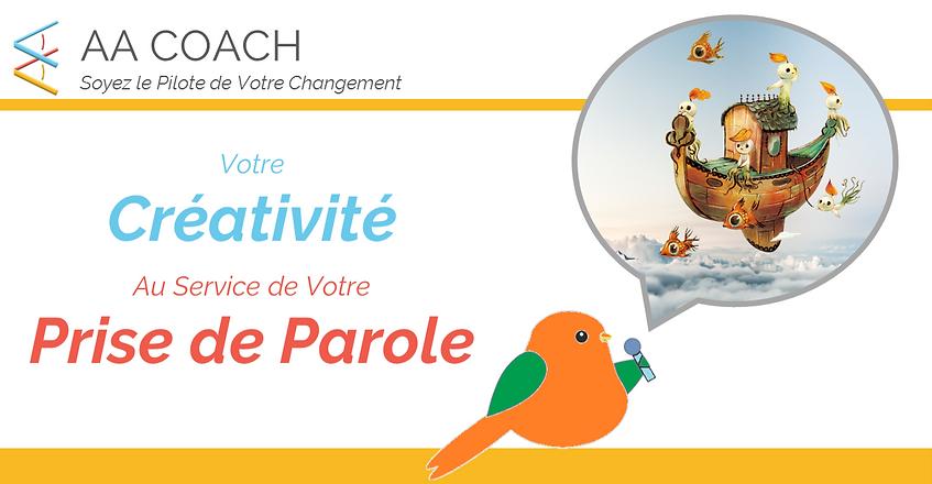 exprimer créativité prendre la parole en public atelier développement personnel Martinique