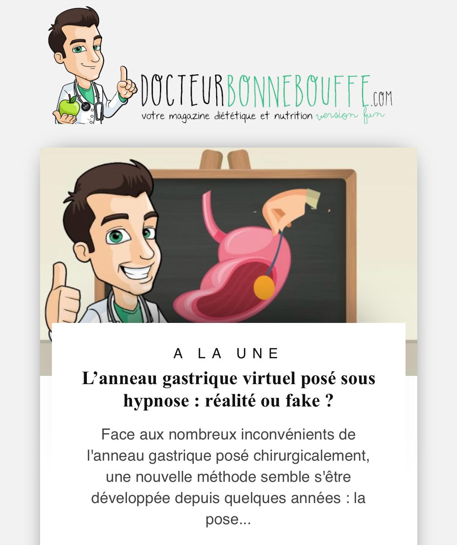 clair et distinctif 60% pas cher grande vente L'anneau gastrique virtuel sous hypnose : réalité ou fake ...