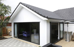 Exterior - Black and White Extension