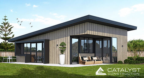 The Benny Minor Dwelling - stylish, architectural design, built by Registered Masterbuilders.