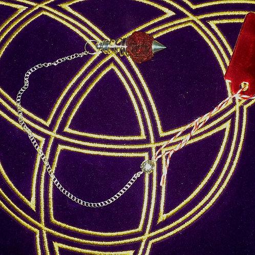 Pendule graine de lotus