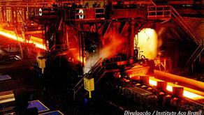 Aço : Produção brasileira cresce 20,2% até setembro