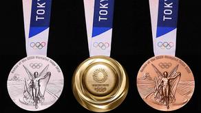 Medalhas olímpicas e paraolímpicas são produzidas com metais reciclados