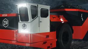 Sandvik testa caminhões elétricos em mina subterrânea da Barrick