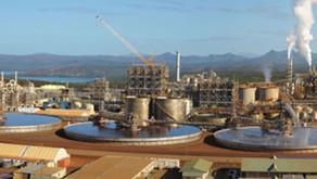 Vale conclui venda de operação de níquel na Nova Caledônia por US$ 1,1 bilhão