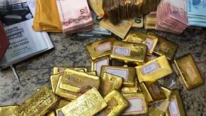Apreensão de ouro pela PF subiu 130% em 2020