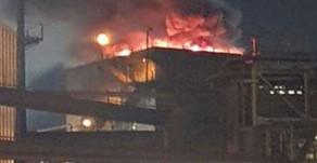Incêndio atinge alto-forno da Usiminas em Ipatinga (MG)