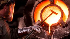 Aço, Produção brasileira cai 8,5% até outubro