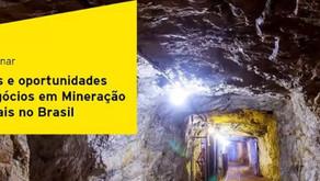 EY e IBRAM lançam estudo sobre setor mineral