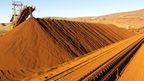 Minério de Ferro, exportações somam 40 milhões de t