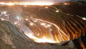 Produção de cobre no Chile avança em julho