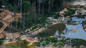 Estudo encontra 321 minas ilegais nos nove estados da Bacia Amazônica