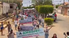 Após protesto, moradores de cidade no sudoeste da Bahia entram em acordo com mineradora