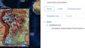 Mapa Tectônico da América do Sul