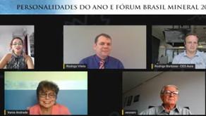 Personalidades do ano no setor mineral debatem sobre  a pandemia e os desafios do setor em 2021