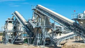 Peneiramento sustentável para projeto de minério de ferro