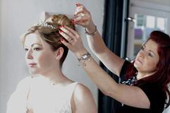 Mobile Wedding Hairdresser and Makeup Ar