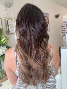 Balayage hair colouring, Hove, Brighton