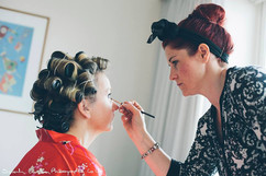 Wedding Hair & Makeup Services with Fine to Fabulous