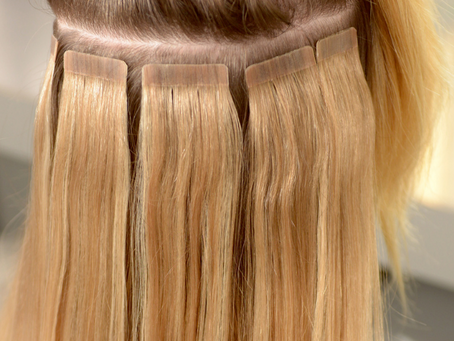 Standard Tape V Invisible Tape Hair Extensions