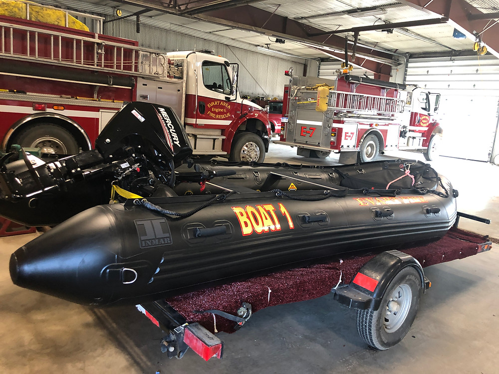 Training on Big Lake 2019