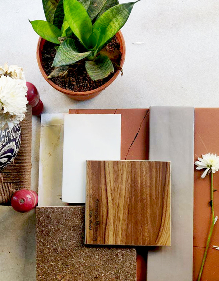 MATERIAL & COLOUR SELECTIONS