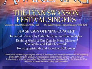 Lynn Swanson Festival Singers Opening Concert