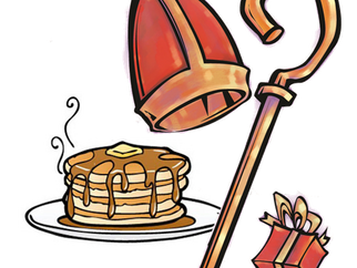 Breakfast with St. Nicholas on Sunday, December 4th