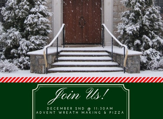 Advent & Christmas at St. Benedict's