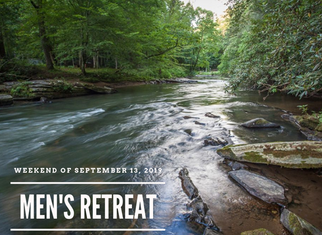 Register Now for The Men's Retreat