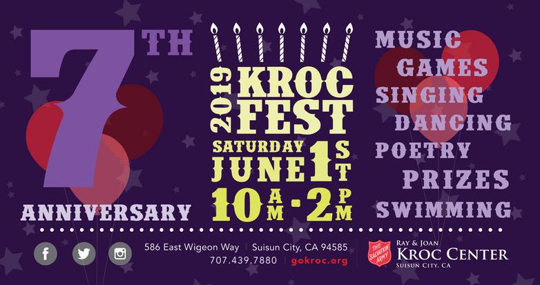 Kroc Fest 2019 Outdoor Banner