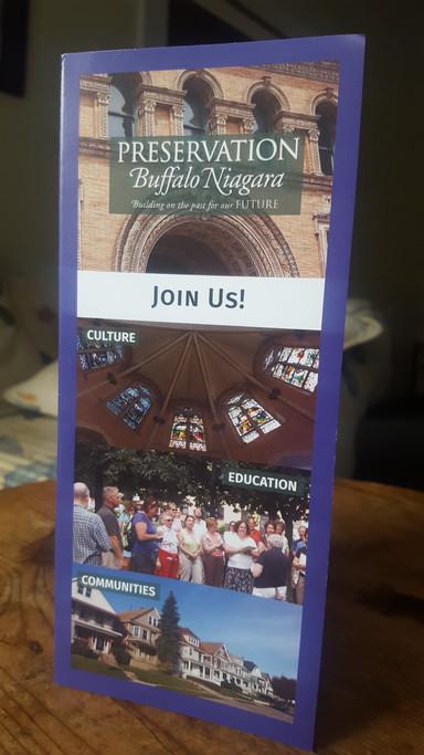 Preservation Buffalo Niagara Brochure
