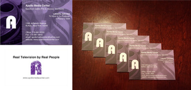 Apollo Media Center Business Cards