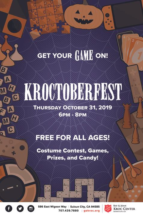 Kroctober Fest 2019 Flyer